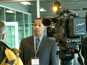 Interviewed on Indianapolis's Fox59 at the Nascent500 Business Plan Competition (2008)